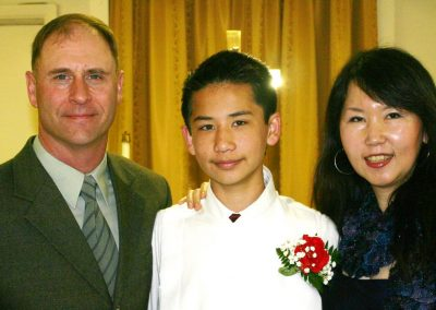 Hess Family at Confirmation of Isaac