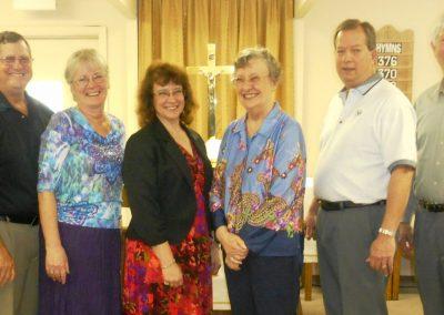 Faith Lutheran Church Council 2015