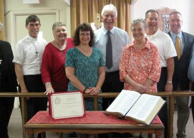 Officiants and Parish Planning Council of Faith Lutheran Church