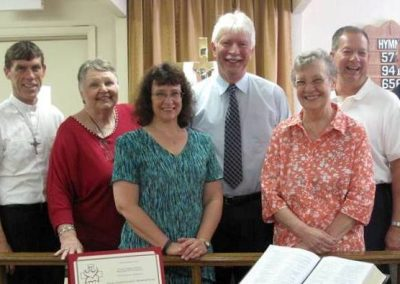 Officiants and Parish Planning Council of Faith Lutheran Church B