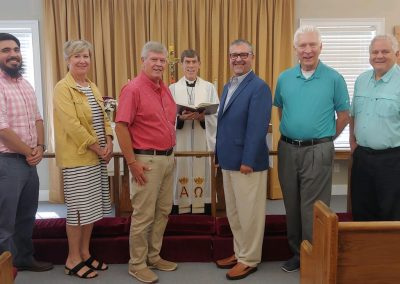Installation of Church Officers 2019 September 29
